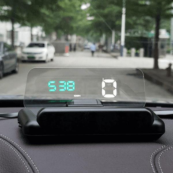 Công nghệ hiển thị trên kính lái ô tô HUD (Head-up Display)