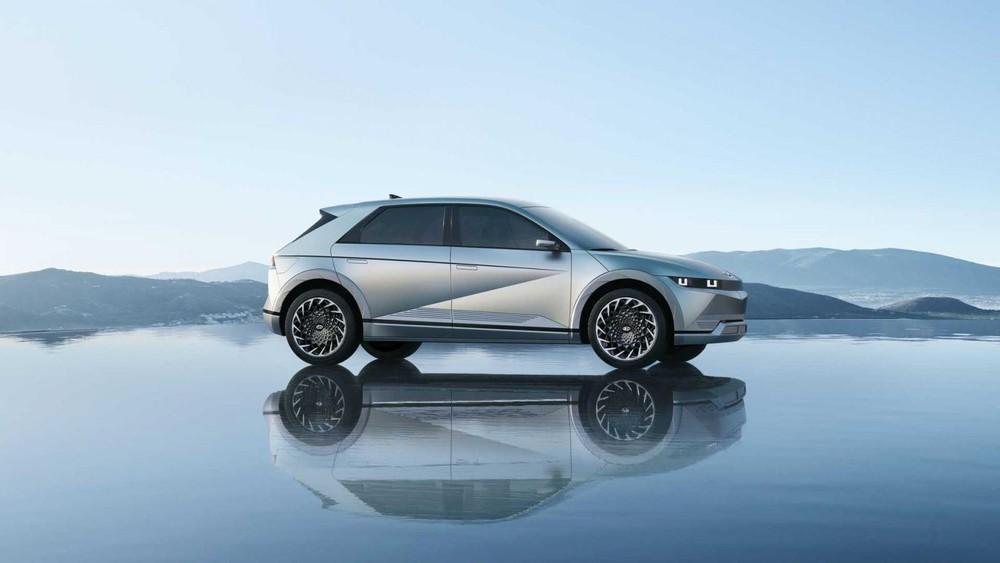 Hyundai Ioniq 5 dùng vành hợp kim 20 inch