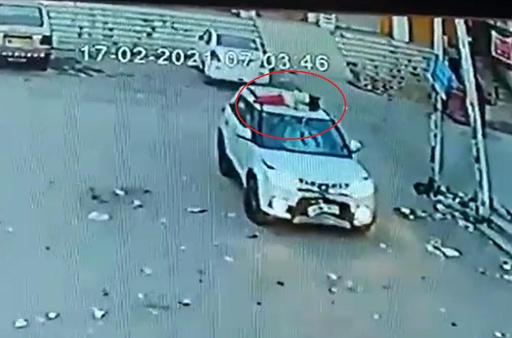 Người đi xe đạp đã tử vong sau cú tông mạnh của chiếc SUV