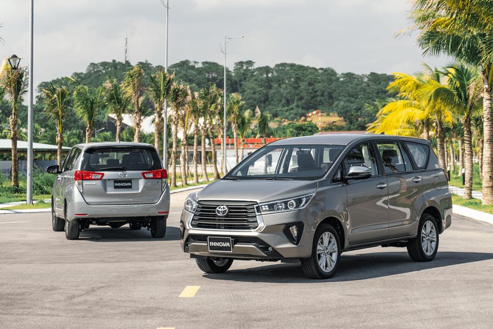 Toyota Innova 2021 mới nhất phiên bản 2.0V