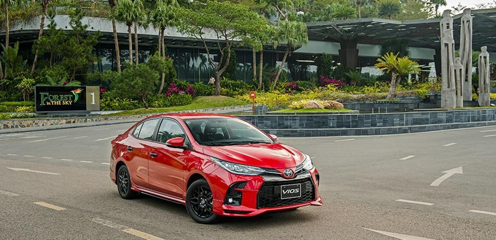 Toyota Vios GR-S 2021 mới được ra mắt trong tháng 3 này.