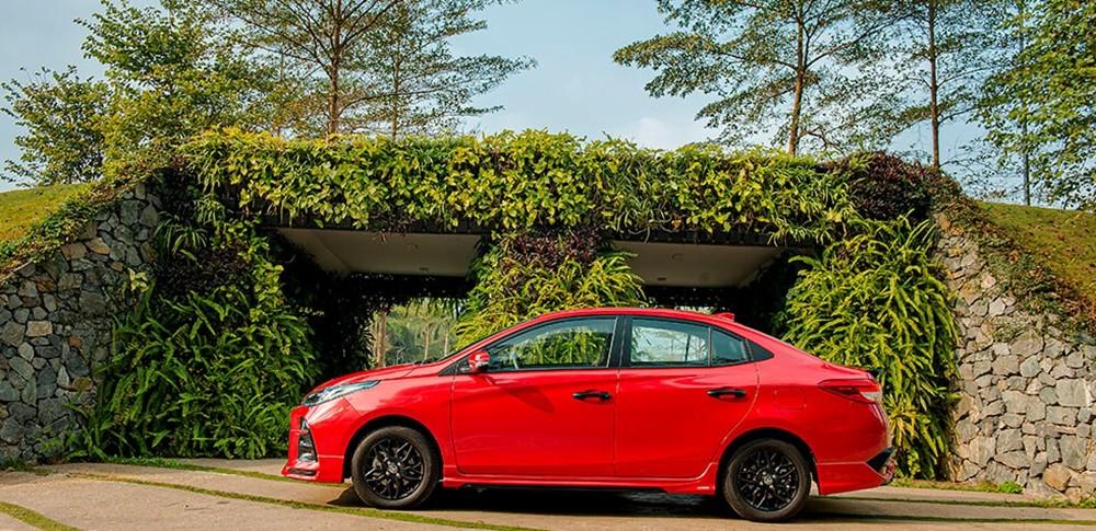 Tổng quan thiết kế ngoại thất bắt mắt của Toyota Vios mới nhất 2021