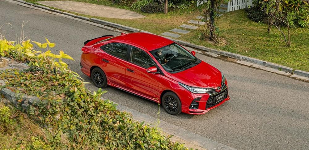 Giá xe Toyota Vios ở mức từ 500 - 600 triệu đồng