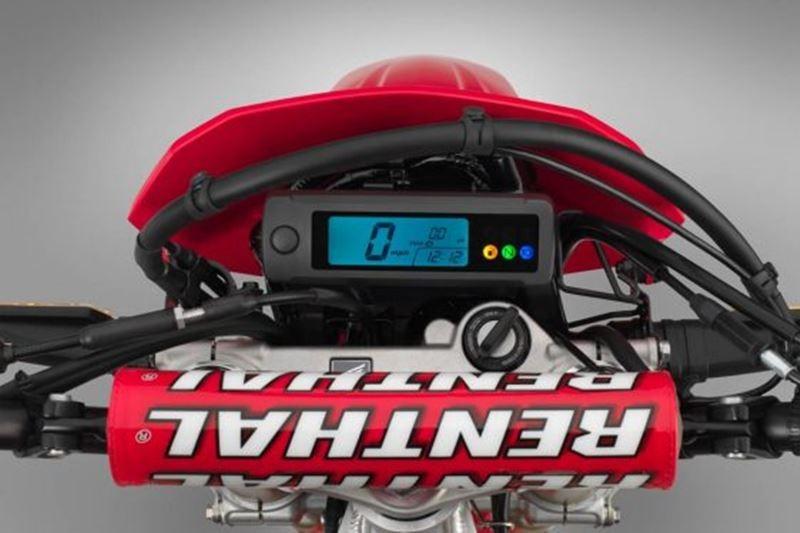 Ghi đông Renthal có sẵn trên Honda CRF450RL