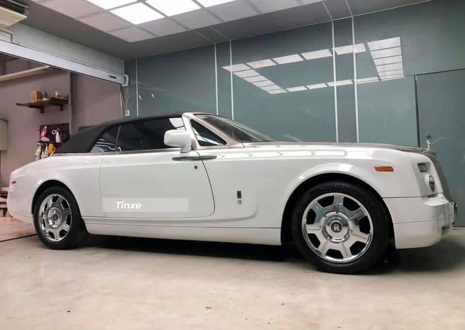 Chiếc Rolls-Royce Phantom Drophead Coupe hàng hiếm tại Việt Nam