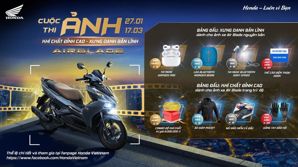 Cuộc thi diễn ra từ ngày 27/01 đến 17/3/2021 trên fanpage Honda Việt Nam