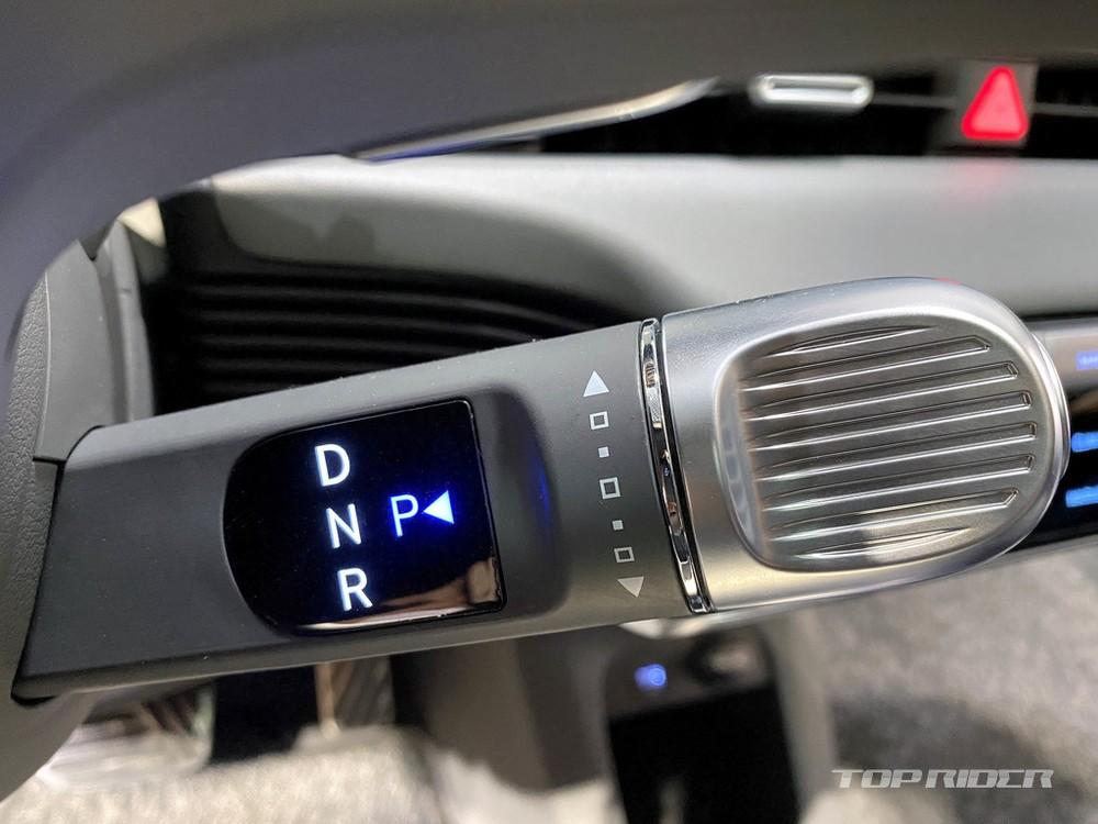 Cần số sau vô lăng của Hyundai Ioniq 5