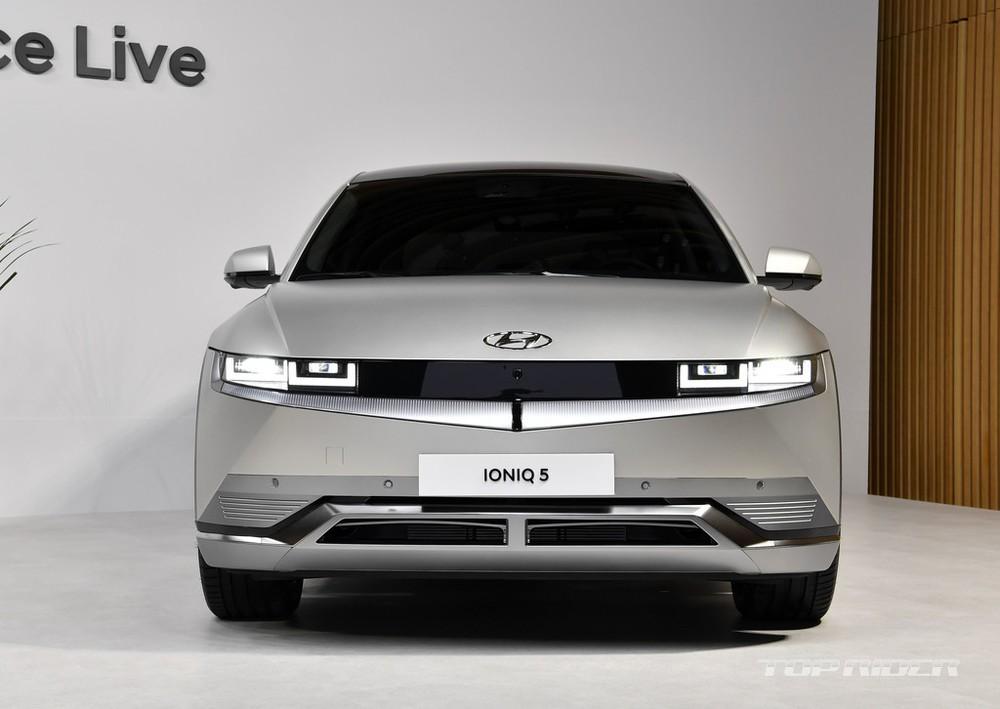 Thiết kế đầu xe của Hyundai Ioniq 5