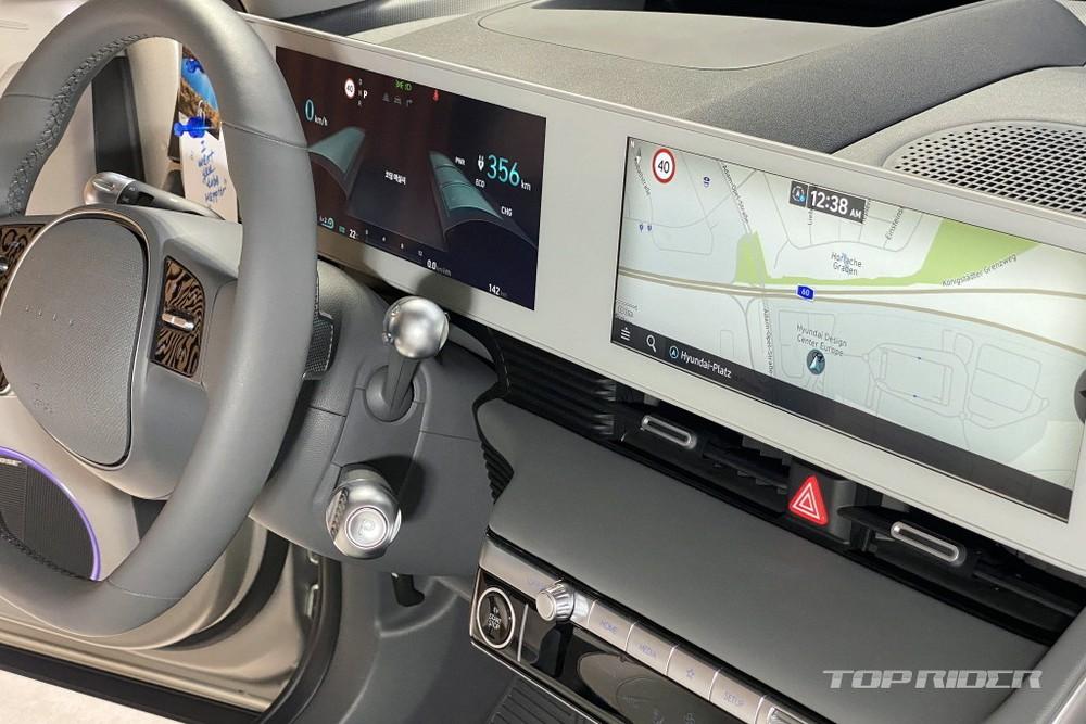 2 màn hình 12 inch của Hyundai Ioniq 5