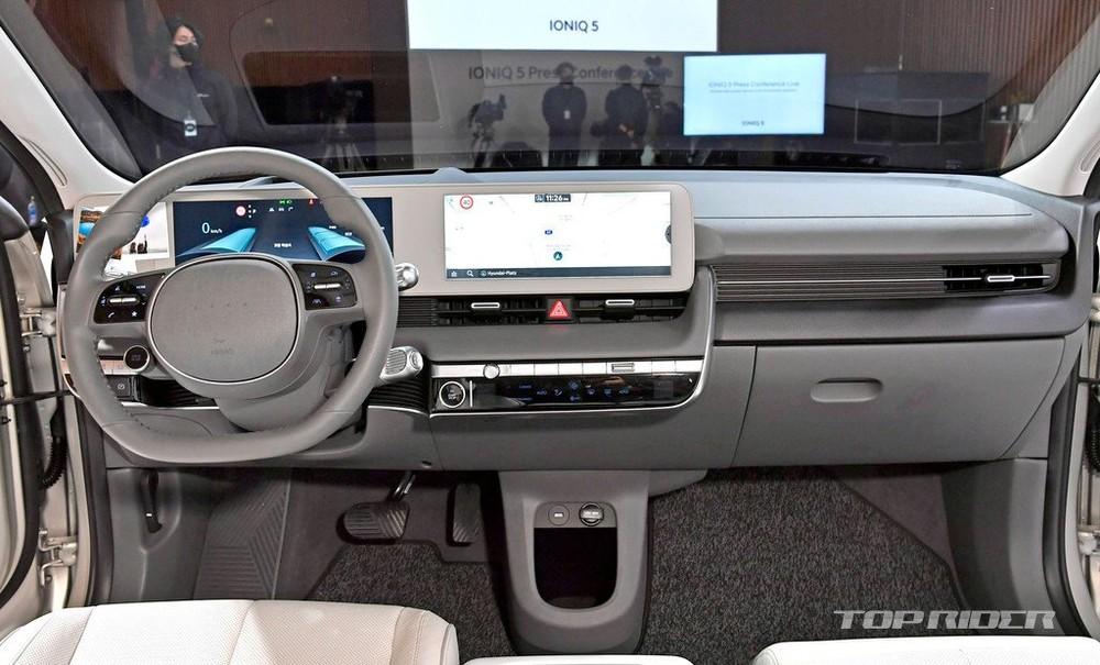 Nội thất của Hyundai Ioniq 5 dùng nhiều vật liệu tái chế