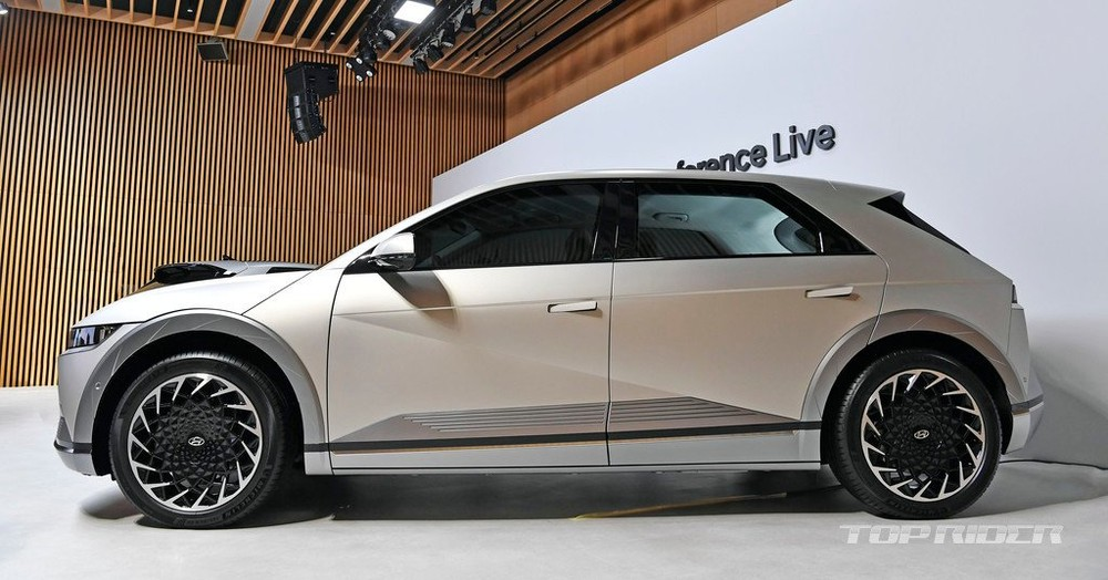 Hyundai Ioniq 5 thuộc phân khúc crossover cỡ trung