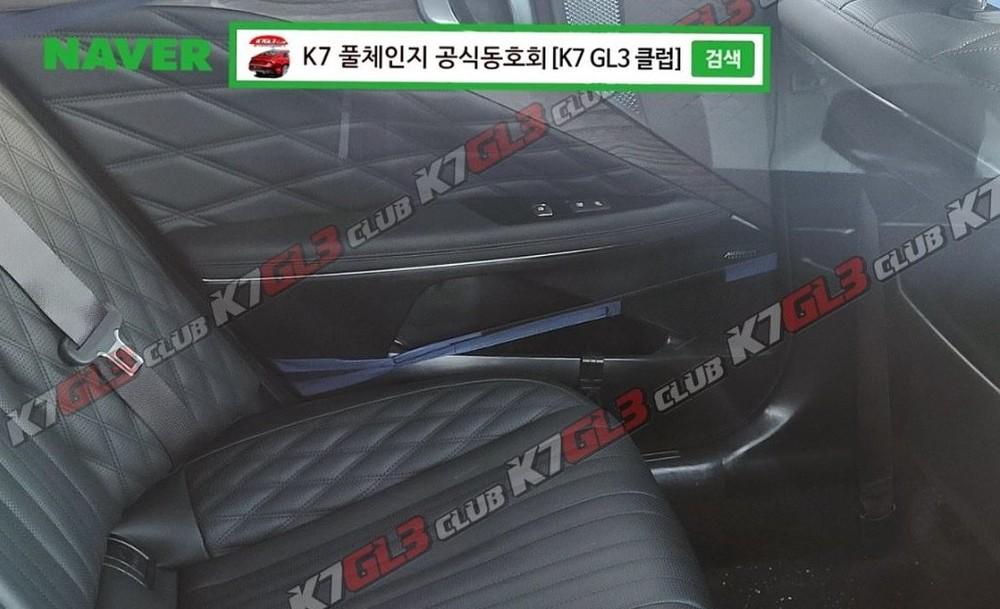 Ghế sau của Kia K8 2022