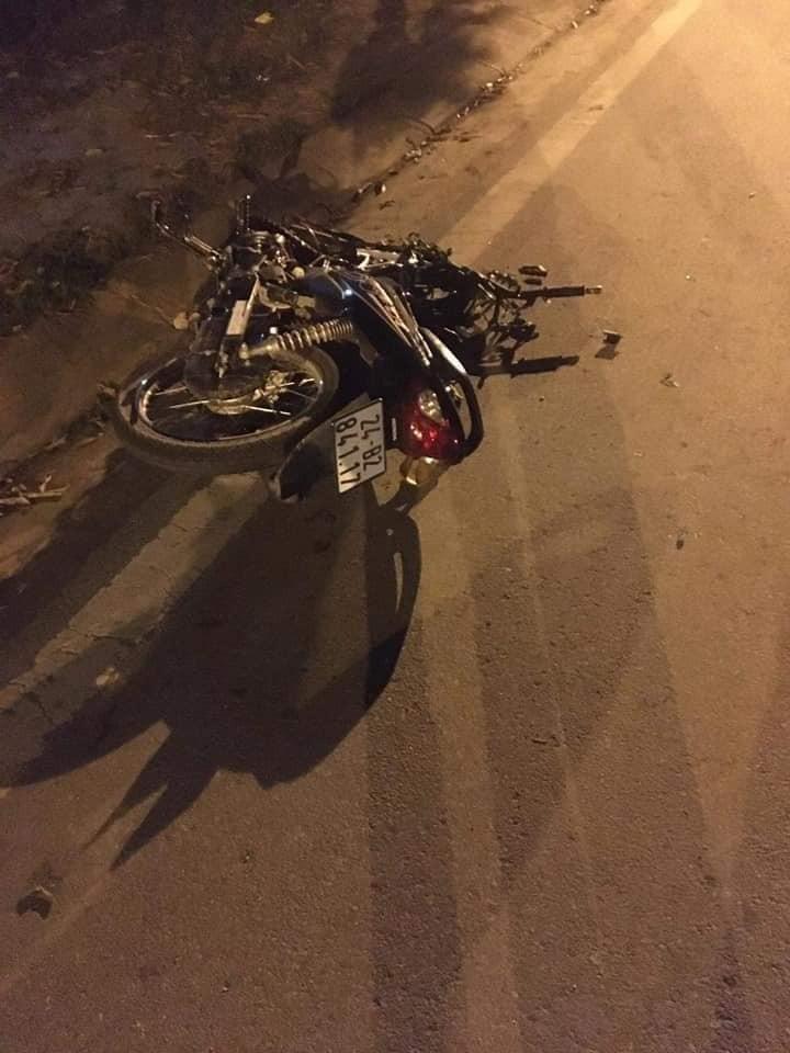 2 người đi xe máy đều là sinh viên trường Cao đẳng Lào Cai