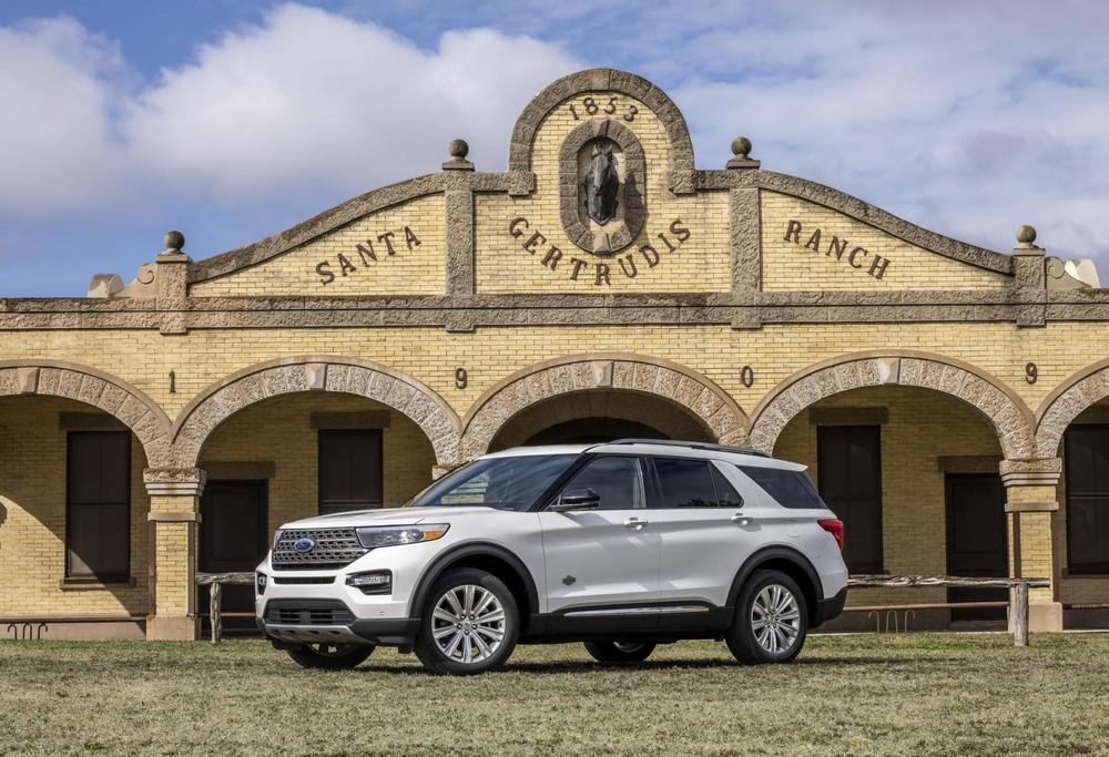 Ford Explorer King Ranch 2021 dùng động cơ EcoBoost V6 3.0L