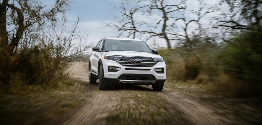 Ford Explorer King Ranch 2021 có gói an toàn Co-Pilot360 Assist+