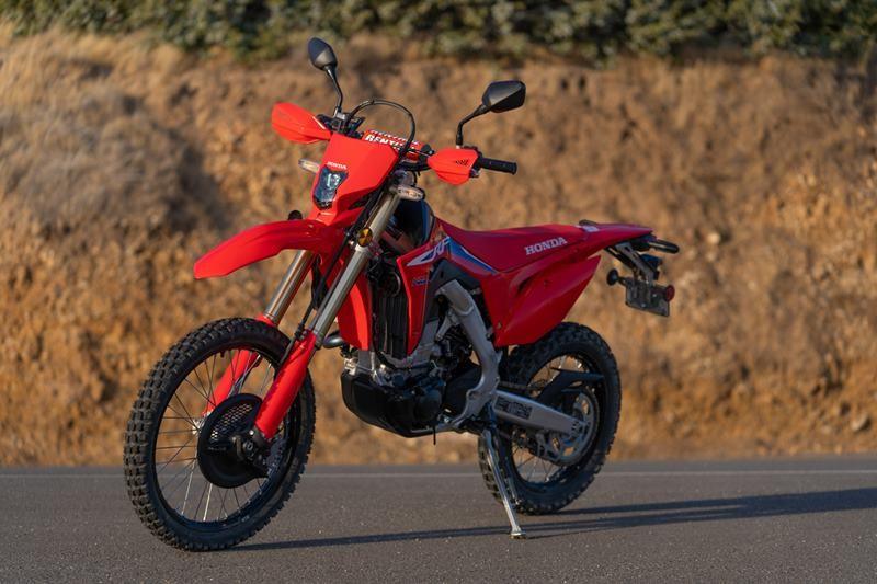 Honda CRF450RL được hoàn thiện tại Mỹ