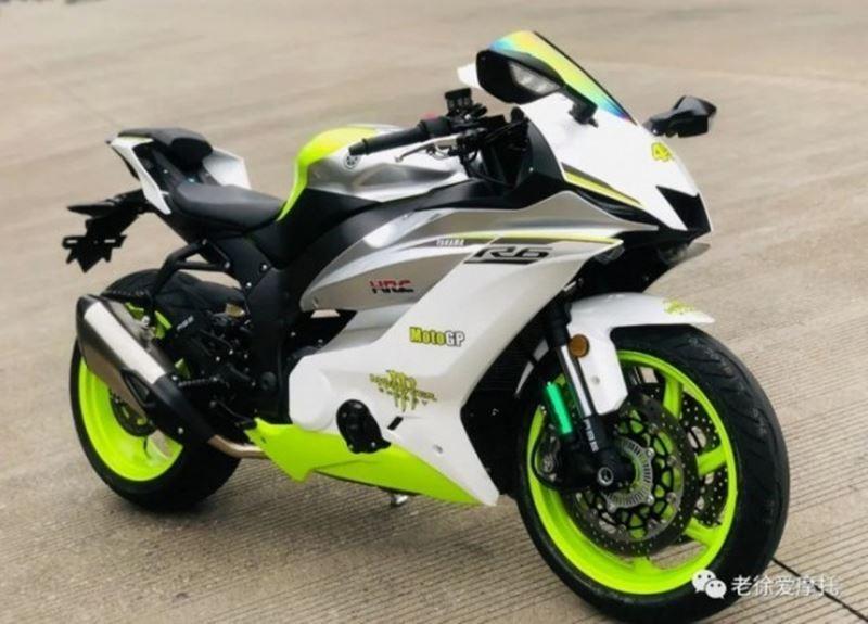 Mẫu xe lấy ý tưởng thiết kế hoàn toàn từ Yamaha R6