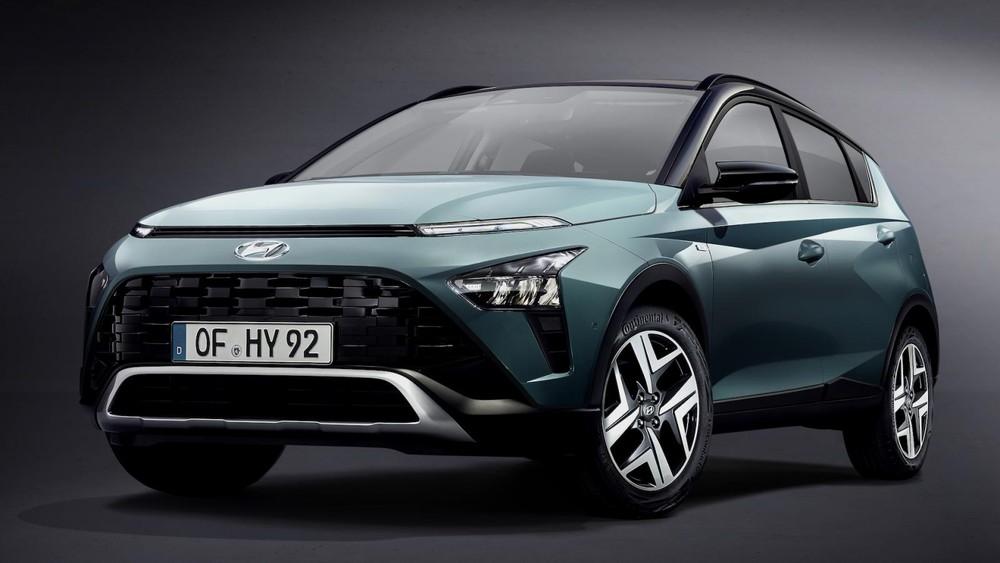 Hyundai Bayon 2021 trình làng tại châu Âu