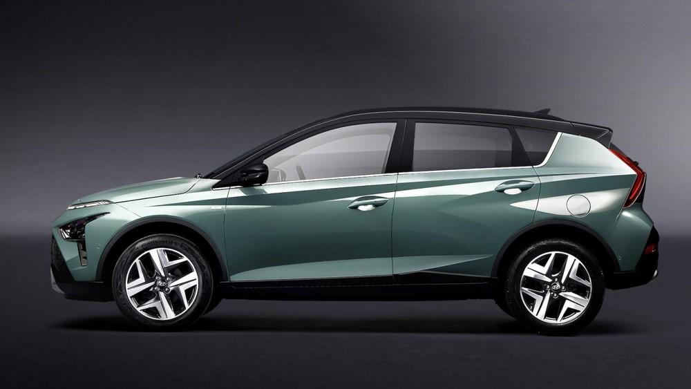 Hyundai Bayon 2021 có kích thước nhỏ hơn Kona