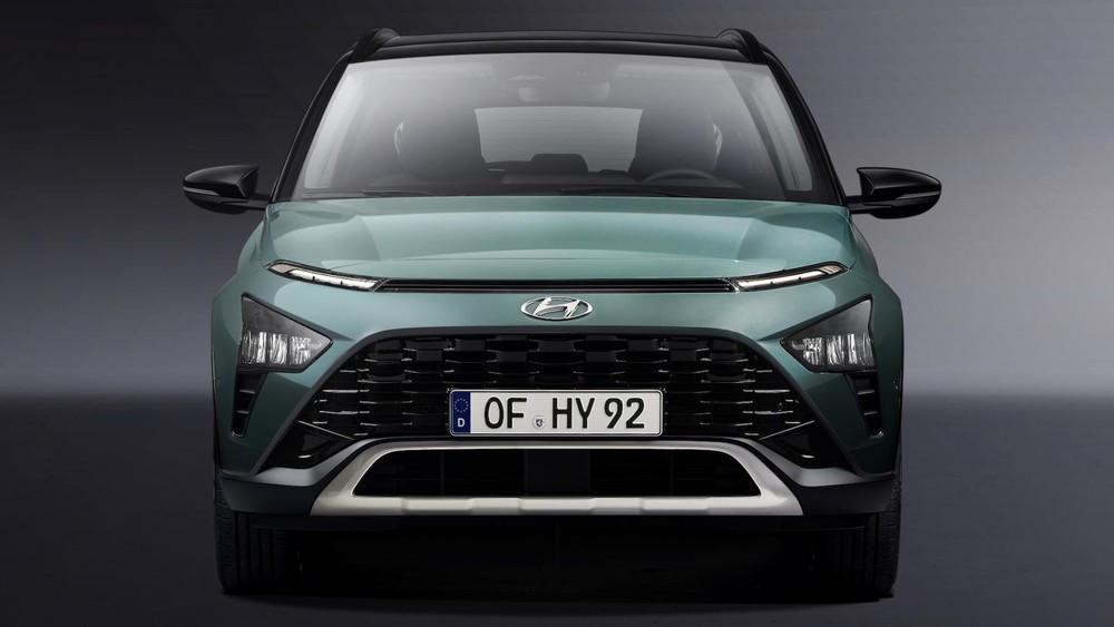 Thiết kế đầu xe của Hyundai Bayon 2021