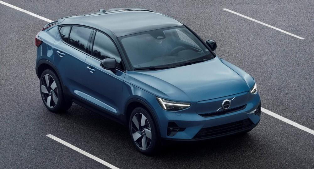 Cận cảnh Volvo C40 Recharge 2021