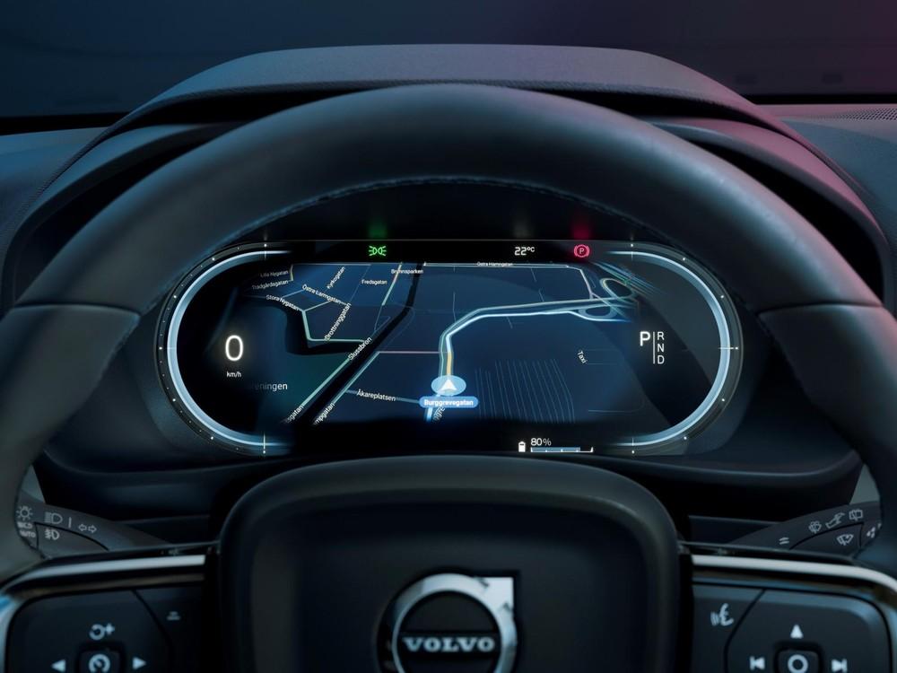 Volvo C40 Recharge 2021 có thể cập nhật phần mềm qua WiFi