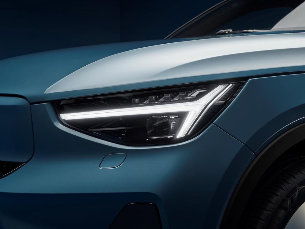 Đèn pha của Volvo C40 Recharge 2021
