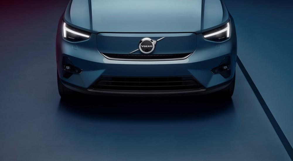 Thiết kế đầu xe của Volvo C40 Recharge 2021