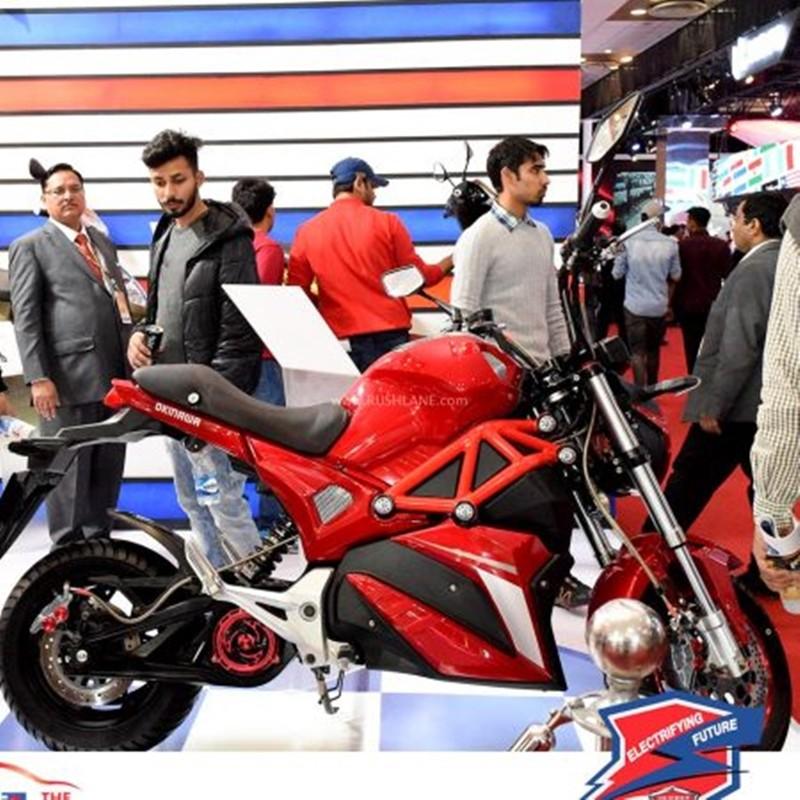 Oki100 ra mắt tại Ấn Độ với khối động cơ điện