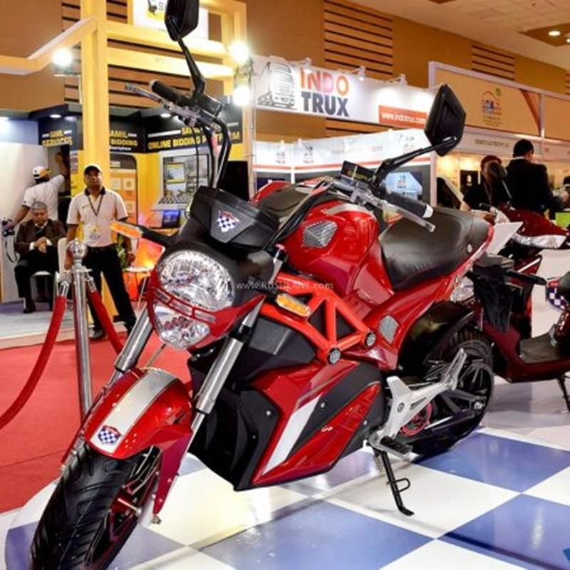 Mẫu xe điện mang kiểu dáng thiết kế như Ducati Monster 795