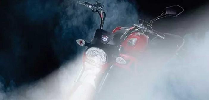 Xe máy điện mang kiểu dáng Ducati Monster