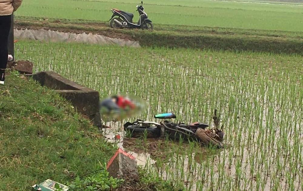 Hiện trường vụ tai nạn nghiêm trọng tại huyện Mê Linh, Hà Nội, vào sáng nay