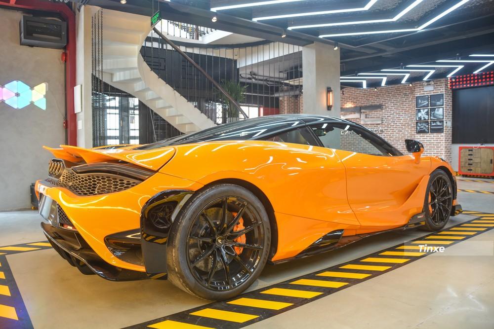 McLaren 765LT có đuôi xe khác biệt hoàn toàn