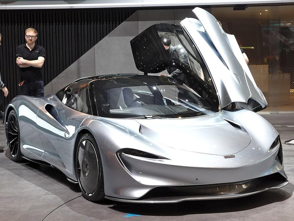 Siêu xe McLaren Speedtail lúc mới ra mắt