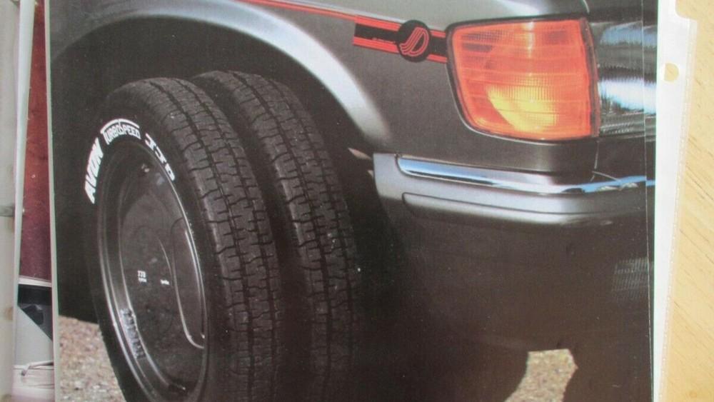 Bộ la-zăng lắp 2 lốp này đã ra đời trong thập niên 1980
