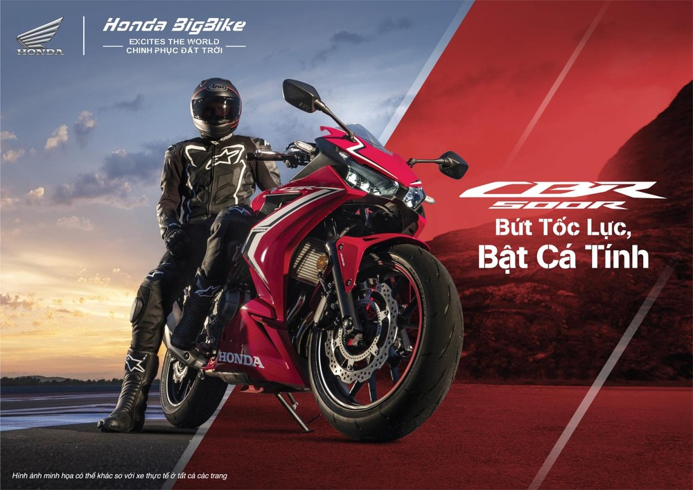 Honda CBR500R thế hệ mới 2021