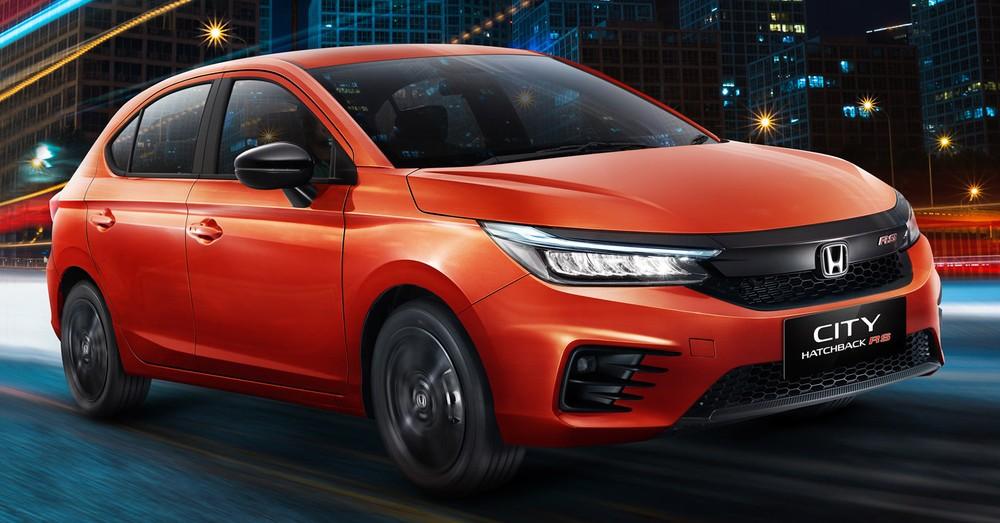 Honda City Hatchback 2021 tại Indonesia chỉ có bản RS nhưng có 2 lựa chọn hộp số