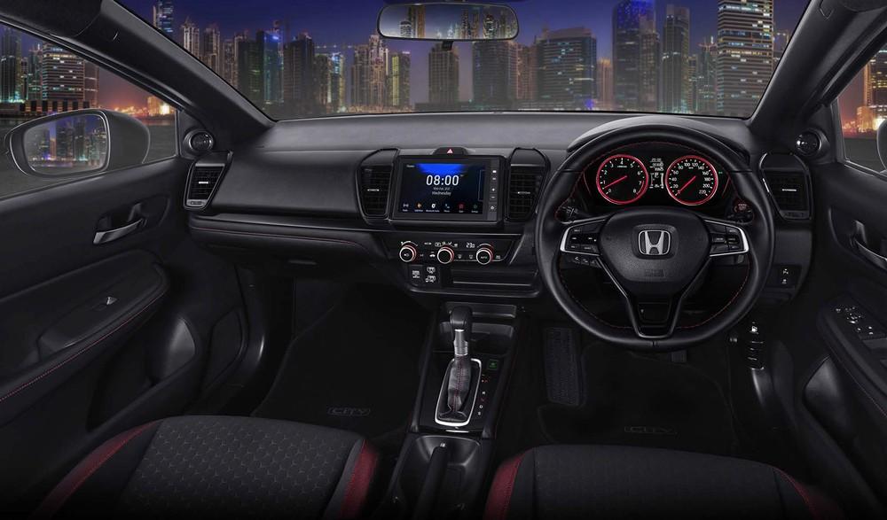 Nội thất bên trong Honda City Hatchback 2021