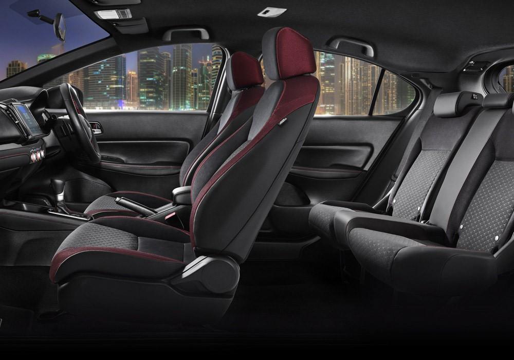 Ghế của Honda City Hatchback 2021