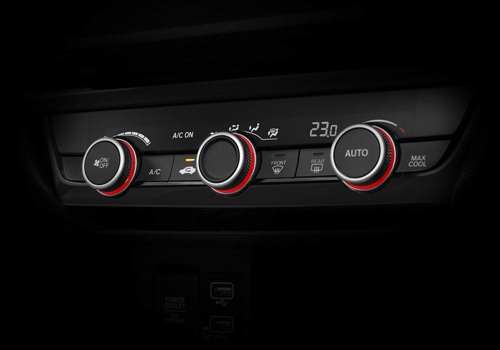 Núm chỉnh điều hòa của Honda City Hatchback 2021