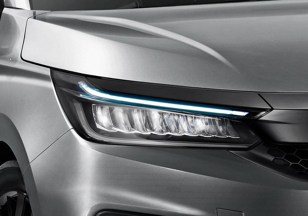 Đèn pha LED của Honda City Hatchback 2021