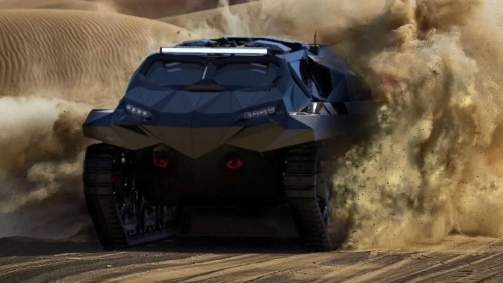 Storm là mẫu xe tăng đa công năng mới củaHighland Systems từ Ukraine