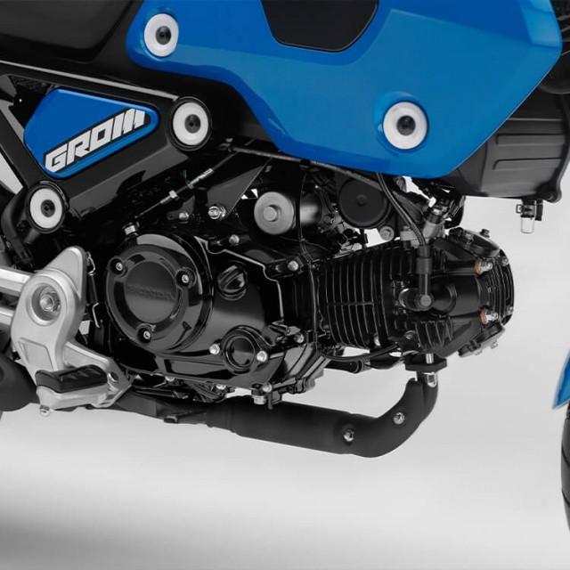 Khối động cơ 5 cấp số trên Honda Grom 2022
