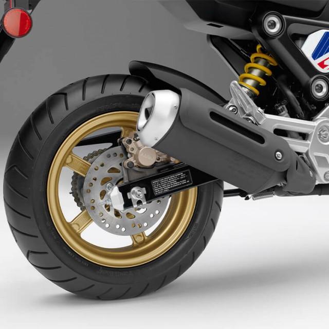 Cặp vành đúc hợp kim 12 inch trên Honda Grom 2022