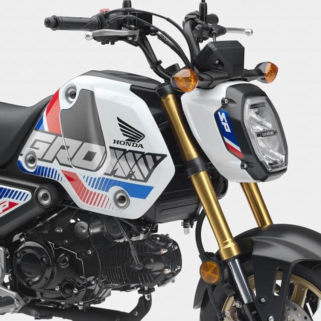 Honda Grom thế hệ mới ra mắt tại Mỹ