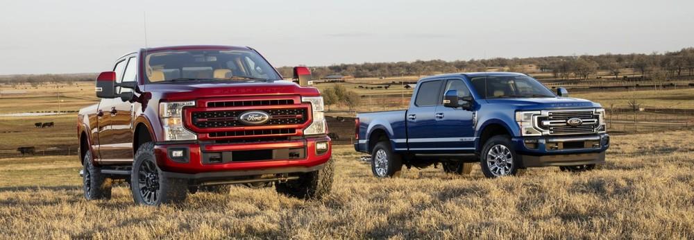 Ford Super Duty 2022 trình làng tại Mỹ