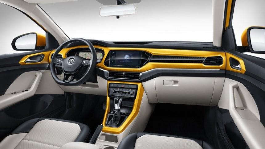 Nội thất bên trong Volkswagen T-Cross 2021