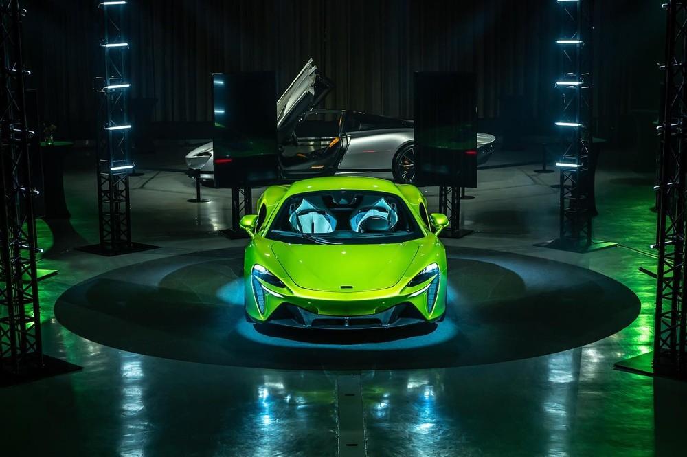 Giá xe McLaren Artura ở Đài Loan là 10,5 tỷ đồng