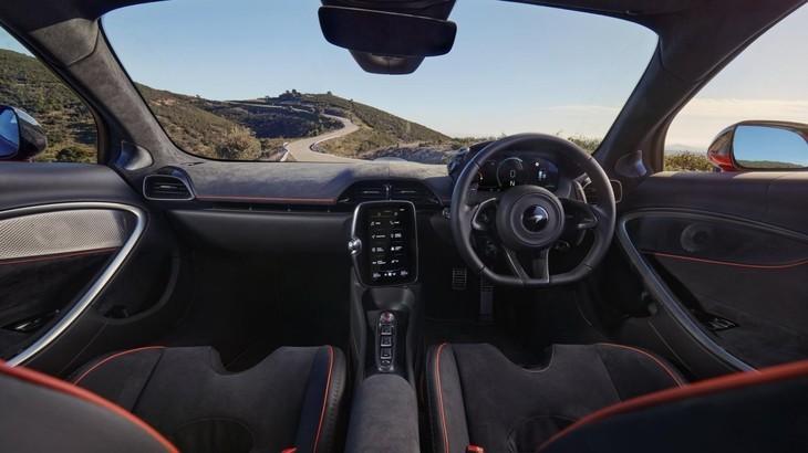 Nội thất siêu xe McLaren Artura