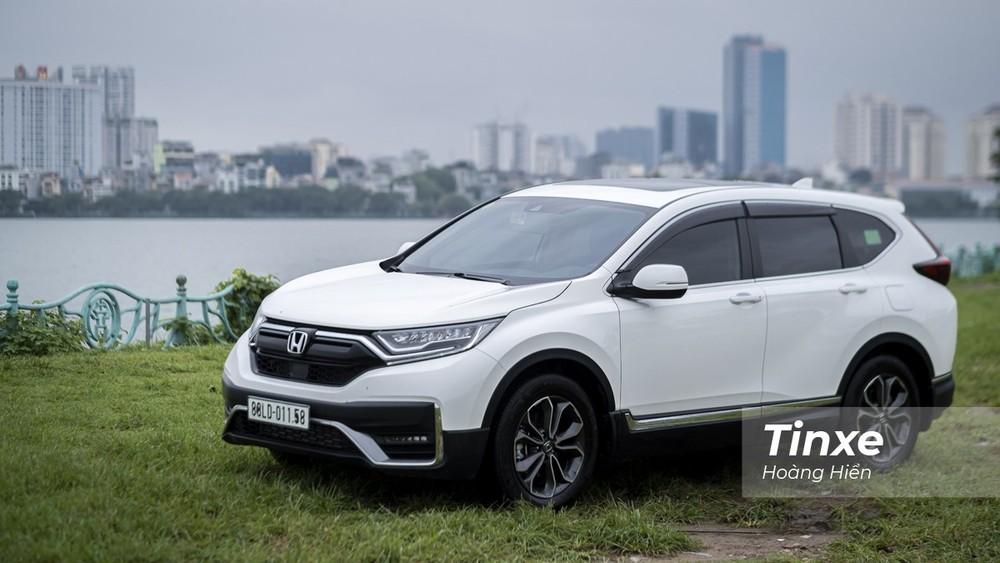 Honda CR-V một lần nữa chìm sâu với sức tiêu thụ giảm mạnh ở tháng 2/2021.